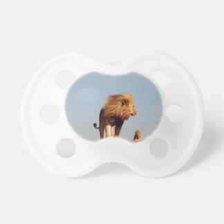 El rey del león (león y Cub adultos) Chupetes De Bebé