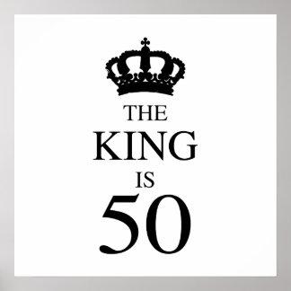 El rey Is 50 Póster