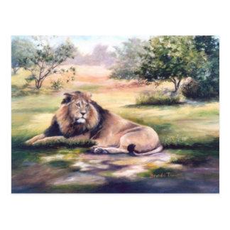 El rey Lion Postcard Postal