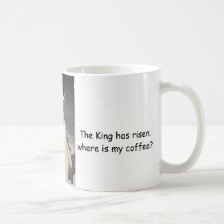 El rey pingüino ha subido taza