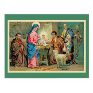 El rey recién nacido tarjeta postal