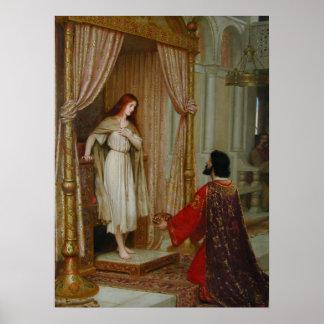 El rey y la Mendigo-criada Póster