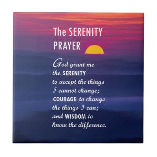 El rezo 2 de la serenidad azulejo