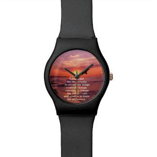 El rezo 3 de la serenidad relojes de mano