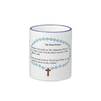 El rezo de Jesús Tazas De Café
