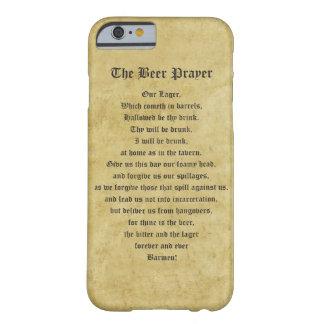 El rezo de la cerveza funda para iPhone 6 barely there