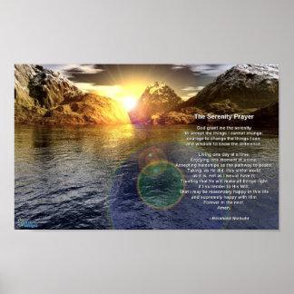 El rezo de la serenidad póster