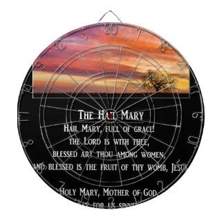 El rezo de Maria del saludo Tabla Dardos