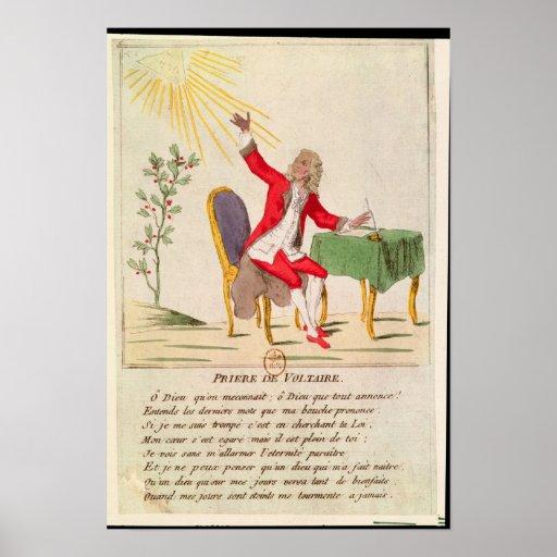 El rezo de Voltaire Posters