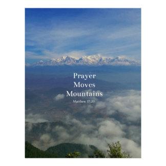 El rezo del 17:20 de Matthew mueve las montañas Membrete