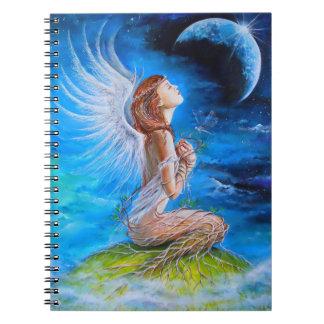 El rezo del ángel libreta espiral