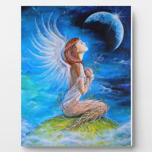 El rezo del ángel placa para mostrar