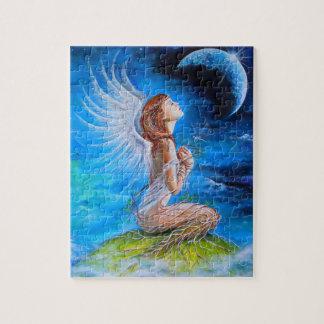 El rezo del ángel rompecabezas con fotos
