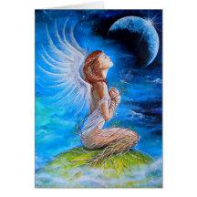 El rezo del ángel tarjetas