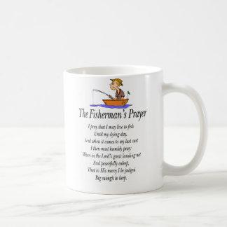 El rezo del pescador tazas de café