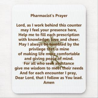 El rezo Mousepad del farmacéutico