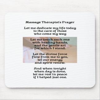 El rezo Mousepad del terapeuta del masaje Alfombrilla De Ratón