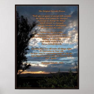 El rezo original de la serenidad poster