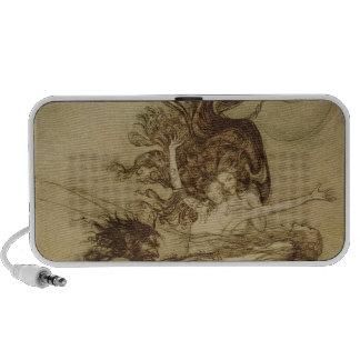 El Rhinemaidens que toma el pelo Alberich iPod Altavoces