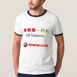 El riesgo de encargo sucede… playeras