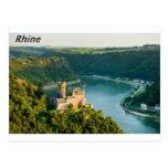El Rin Alemania Angie Tarjeta Postal