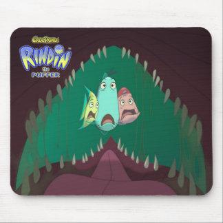El RINDIN de CrocPond el fumador Mousepad Tapete De Ratones