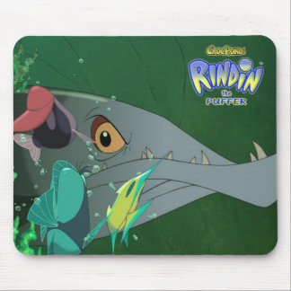 El RINDIN de CrocPond el fumador Mousepad Tapetes De Ratón