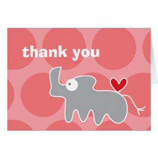 el rinoceronte del dibujo animado del fatfatin le  tarjeton