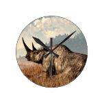 El rinoceronte lanoso viejo relojes
