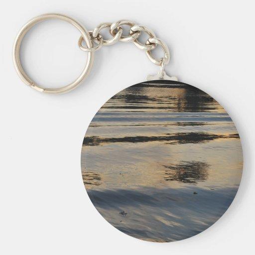 """El """"río americano ondula"""" la colección llavero redondo tipo pin"""