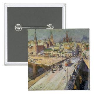 El río Bridge, 1914 de Moskva Pin Cuadrada 5 Cm