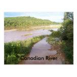 El río Canadian (Calvin Okla) Postal