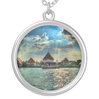 El río Chao Phraya Colgante Redondo