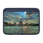 El río Chao Phraya, Tailandia Funda Macbook Air