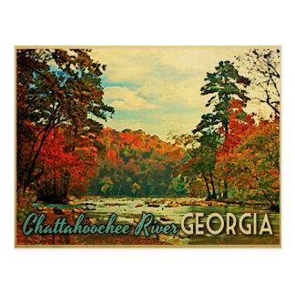 El río Chattahoochee Georgia Postales