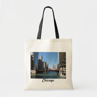 El río Chicago Bolsa Tela Barata