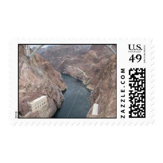 El río Colorado debajo del Preso Hoover Envio