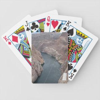El río Colorado debajo del puente del Preso Hoover Barajas De Cartas
