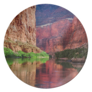 El río Colorado en el Gran Cañón, AZ Platos