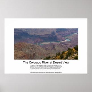 El río Colorado en la impresión 4898 del Gran Póster