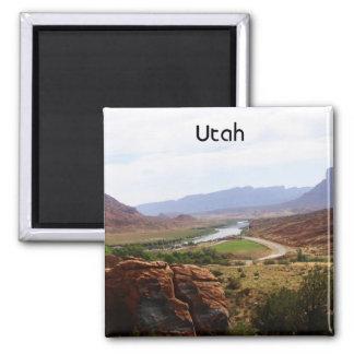 El río Colorado en Utah Imanes De Nevera