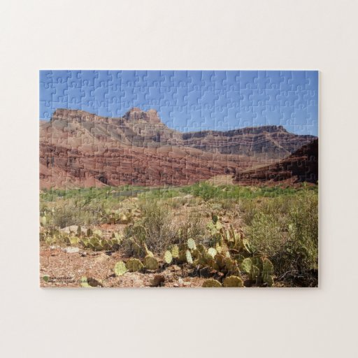 El río Colorado escénico en la fotografía del Gran Puzzle