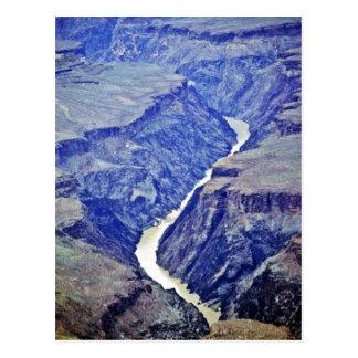 El río Colorado - Gran Cañón Postales