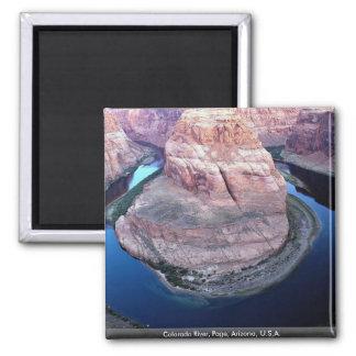 El río Colorado, página, Arizona, los E.E.U.U. Imán Cuadrado