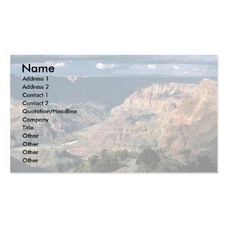 El río Colorado, parque nacional del Gran Cañón, A Tarjetas De Visita
