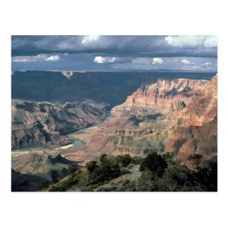 El río Colorado, parque nacional del Gran Cañón, A Postales