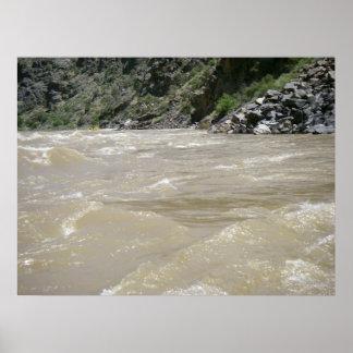 El río Colorado Póster