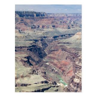 El río Colorado que atraviesa la garganta interna Postal