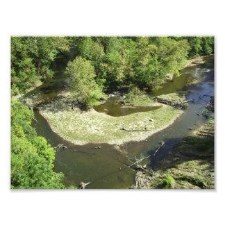 El río de Cuyahoga, pasa por alto el parque, Cuyah Impresiones Fotográficas