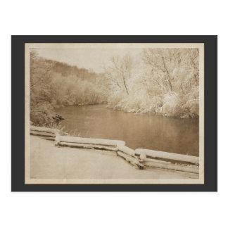 El río de Huron Tarjetas Postales